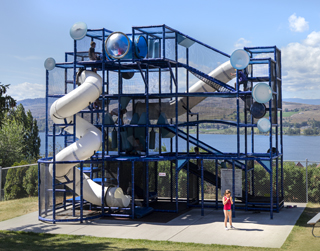 Kid Zone at splashdown vernon waterpark