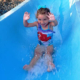 kiddie waterslide at splashdown vernon