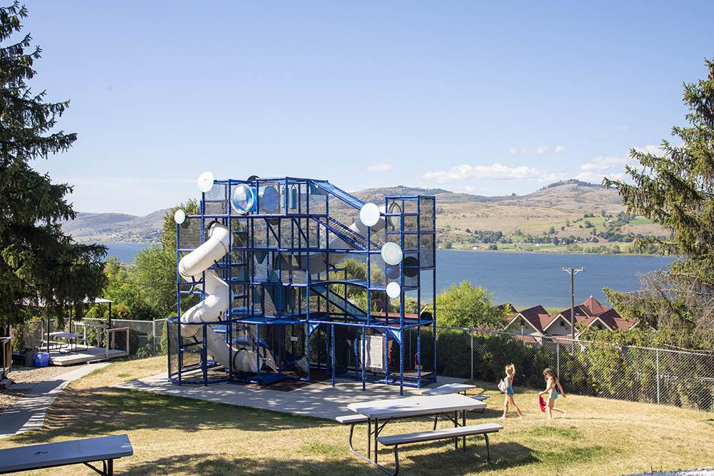 Kid Zone at splashdown vernon waterpark
