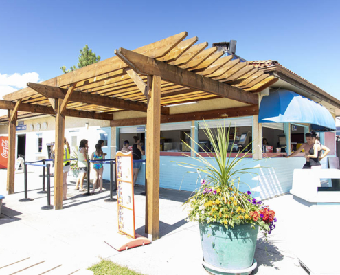 Food and Concessions at Splashdown Vernon Fmaily Waterpark
