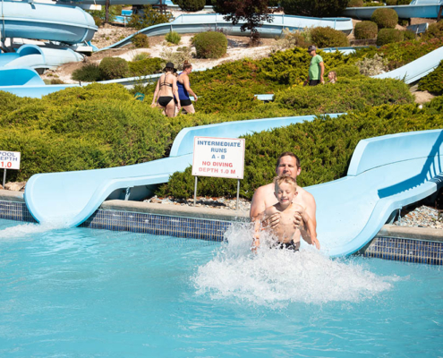 waterslides at splashdown vernon